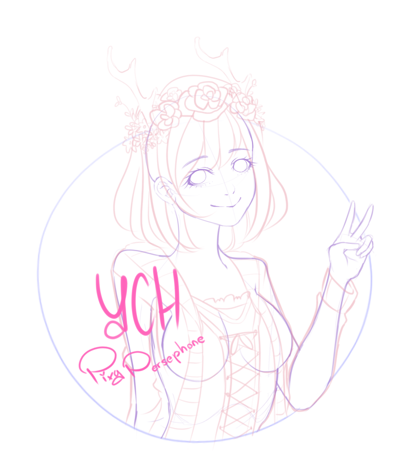Pay Here Buy Here >> YCH | Peace + Love by PixyPersephone on DeviantArt