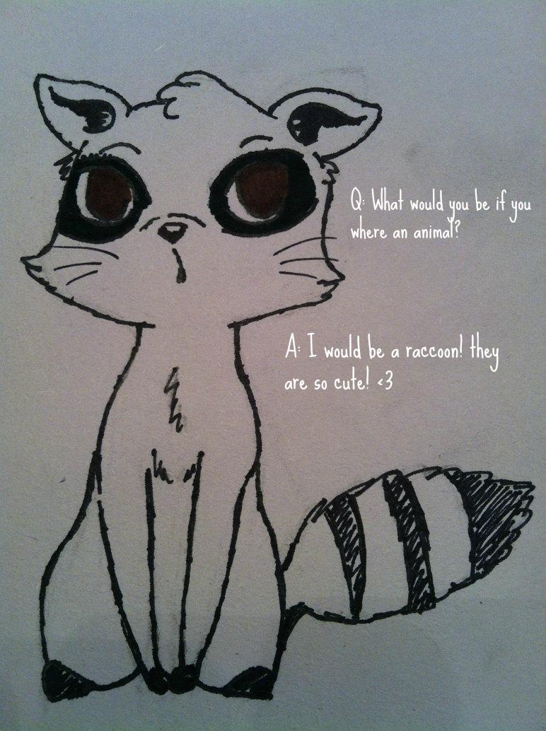 Traditional Raccoon Tattoo Half Sleeve Design