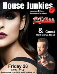 DJ SHOO  HJ  Mathieu godbout 28 avril 2017