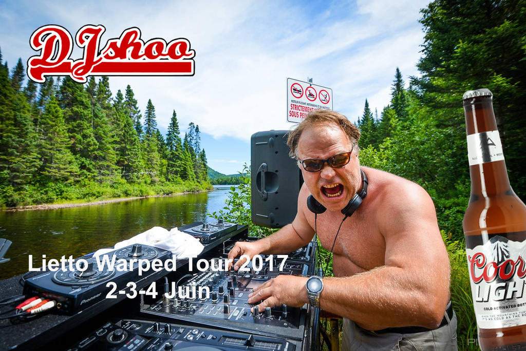 Dj Shoo - Warrped Tour 2017 by DJ-SHOO