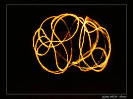 playing with fire - abstract by sh4dow