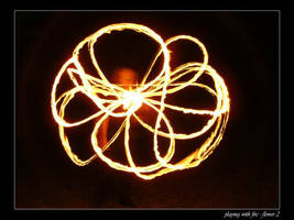 playing with fire - flower 2 by sh4dow