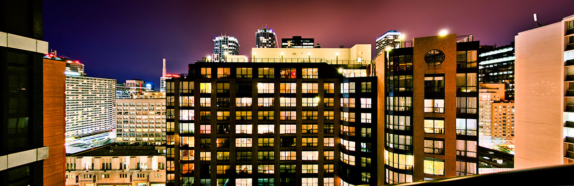 Toronto - View from my apartment (2010) by sh4dow