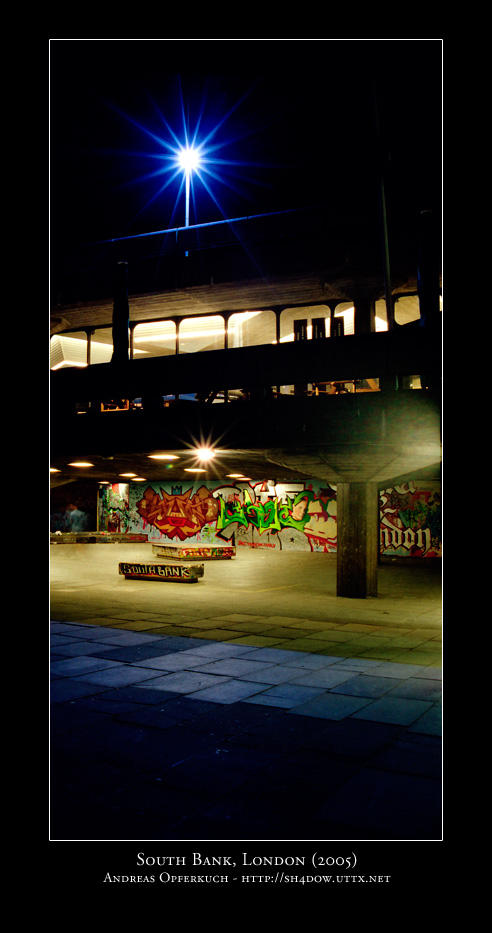 South Bank, London by sh4dow