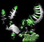 Kirifox: NightShrowd7-17 by Akari-Adopts