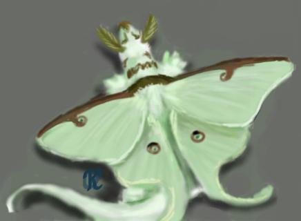 Luna Dragon by Katolin