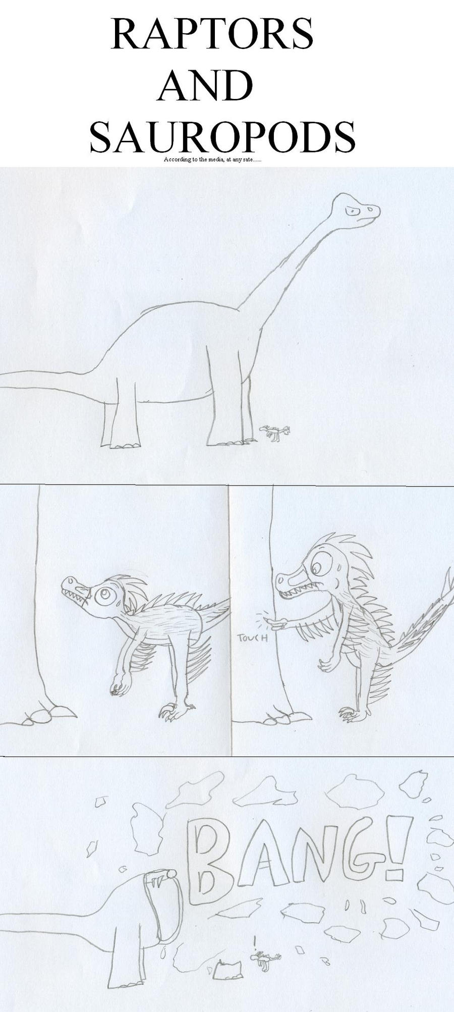 Raptors and Sauropods