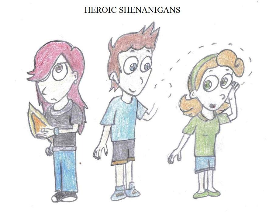 GA - Heroic Shenanigans by Crash-the-Megaraptor