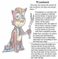 OC Profile 16 - Get to Know Wyandanch by Crash-the-Megaraptor