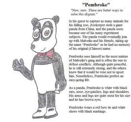 OC Profile 18 - Get to Know Pembroke by Crash-the-Megaraptor