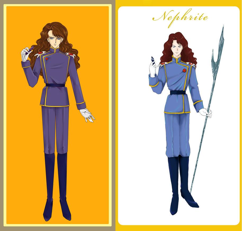 Nephrite 2008 Vs. Nephrite 2012 By Dark-elfa On DeviantArt