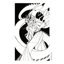 Day 12 : Esmeraude Dragon : Sailor Moon