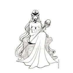 Day 15 : Queen Beryl : Sailor Moon