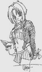 Roxy Sketch by heyjupiter