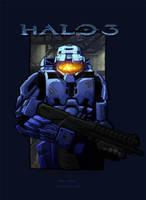 Halo 3: Blue or Red? by MastaHicks