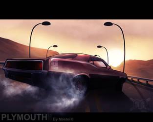 Xmas gift - Plymouth Hemicuda by MastaHicks