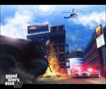 GTA IV - Urban Gunfight