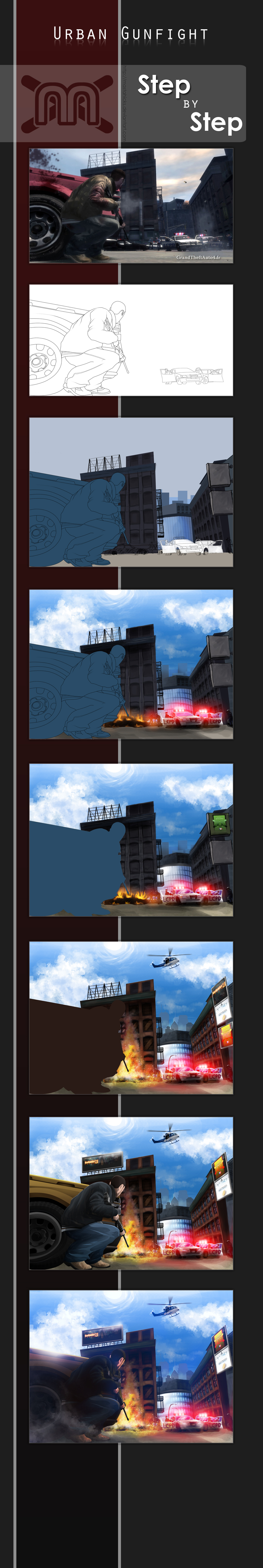 GTA IV: WIP details by MastaHicks