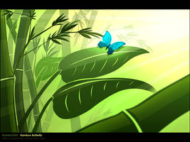 Bamboo Butterfly by MastaHicks