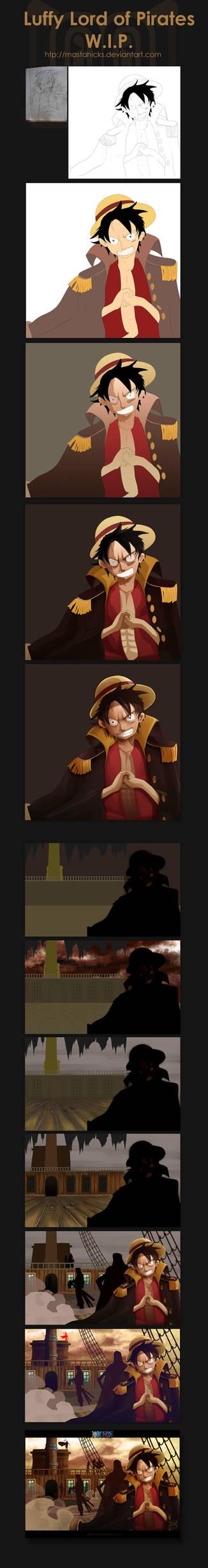 Luffy : WIP Details