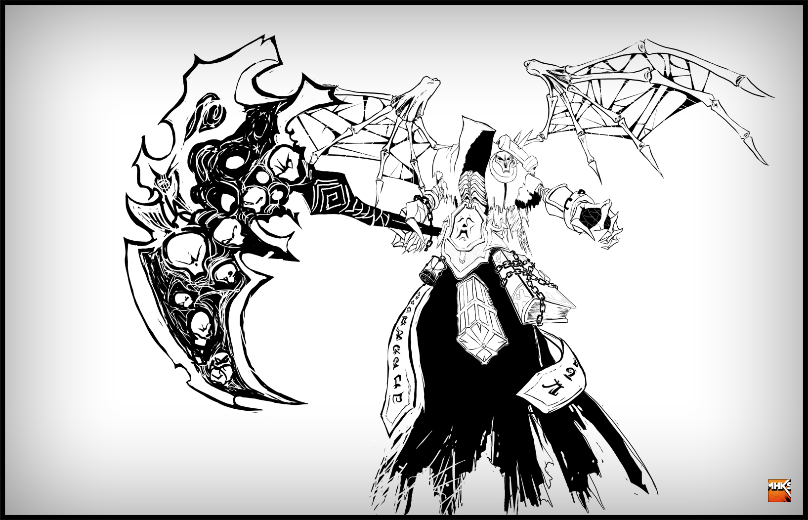 Darksiders II - Horseman Death by MastaHicks