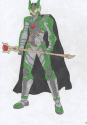 My Kamen Rider Wizard by Tyrann1990