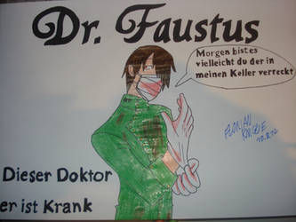 Dr. Faustus - Anime Version by Tyrann1990
