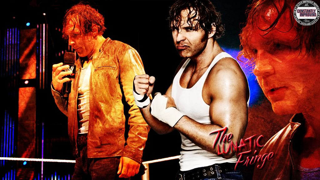 Dean Ambrose Simple Wallpaper by AY by AyBenoit12