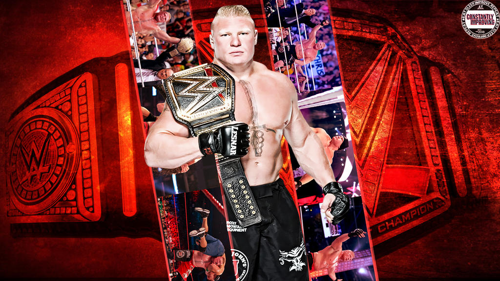 Brock Lesnar Wallpaper By AY AyBenoit12