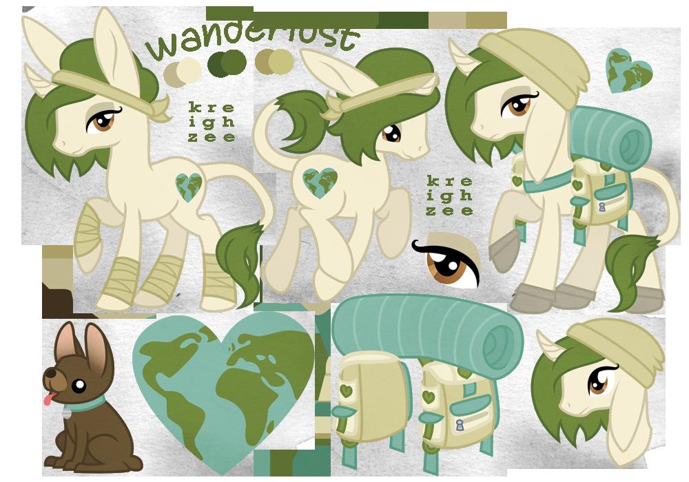 wanderlust (old ref sheet) by ivyhaze