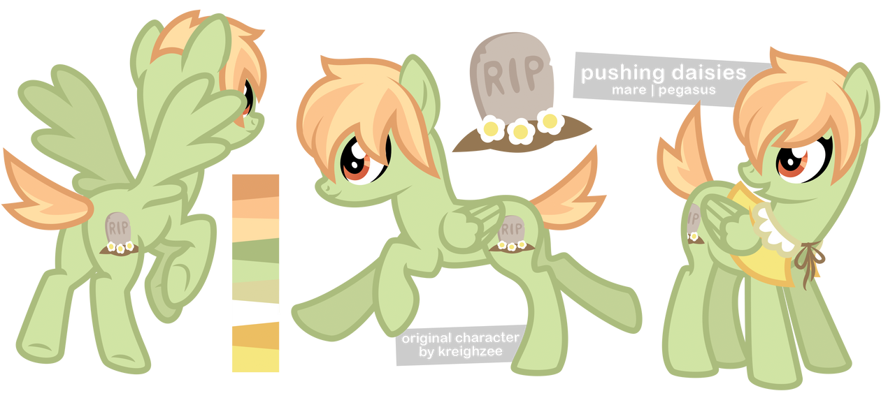 pushing daisies by ivyhaze