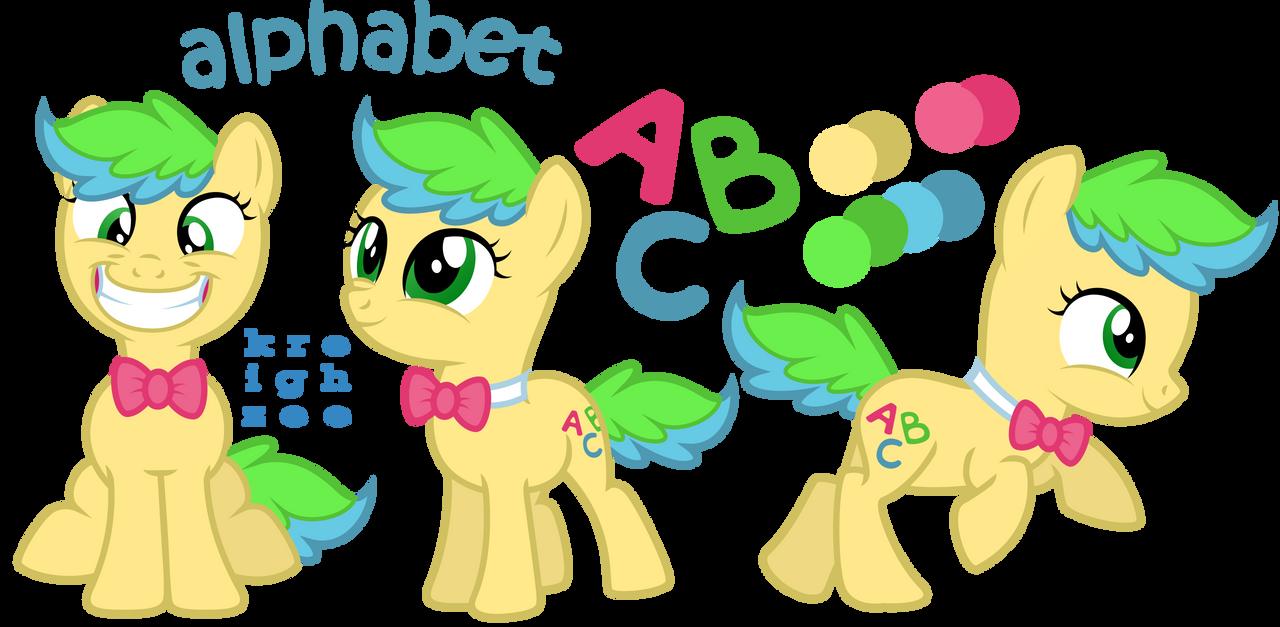 alphabet by ivyhaze