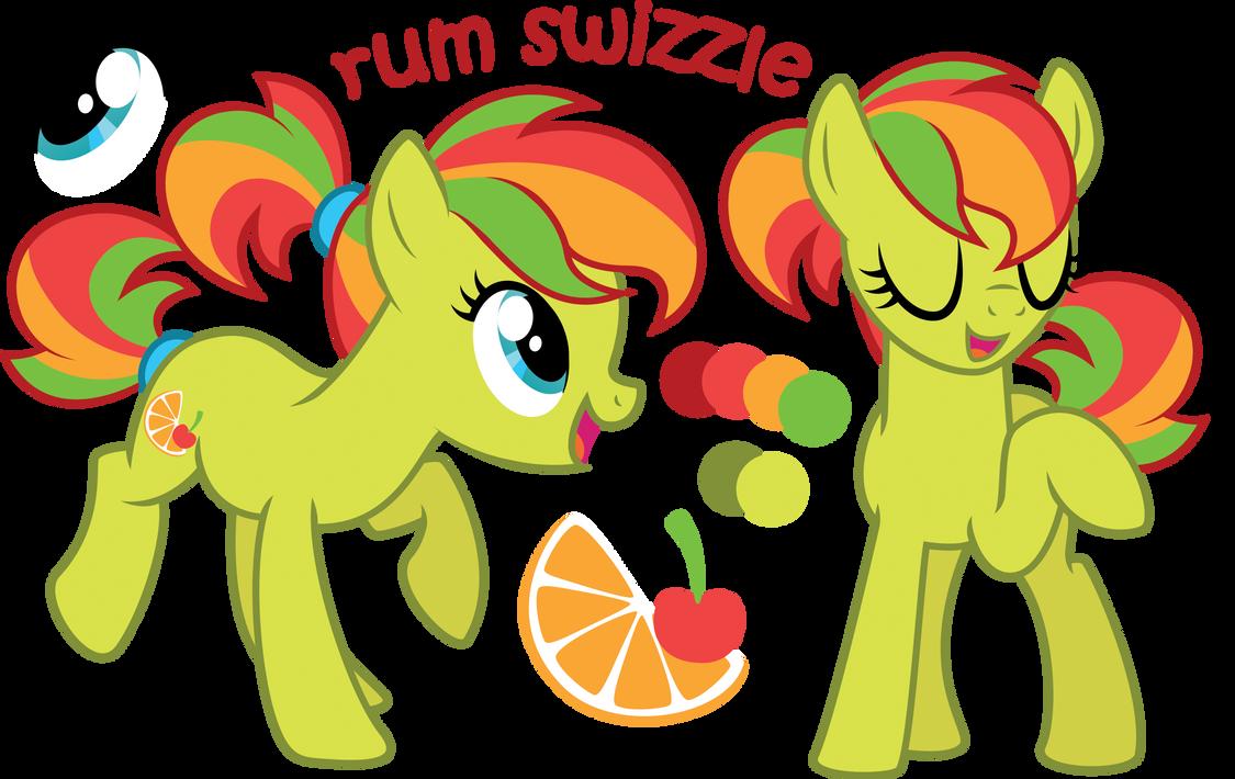 rum swizzle by ivyhaze