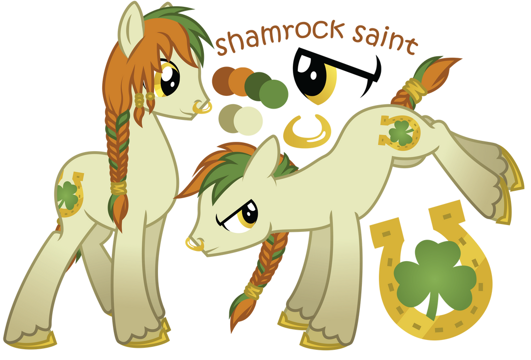 shamrock saint old ref sheet by ivyshire