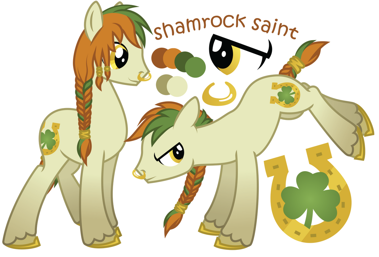 shamrock saint old ref sheet by ivyhaze