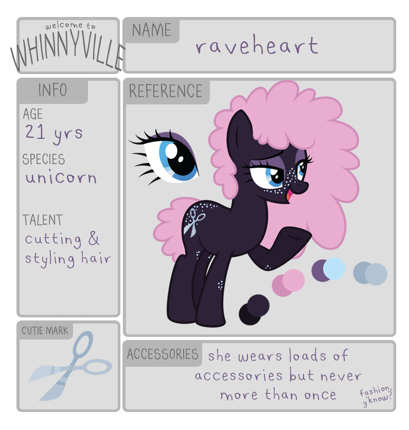 wv app: raveheart by ivyshire