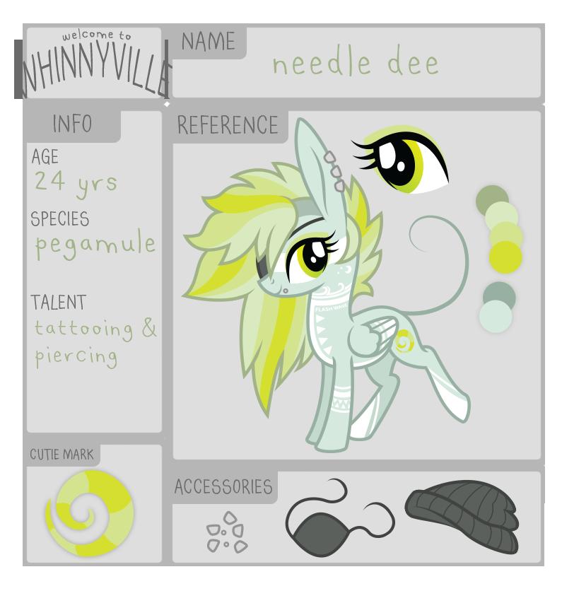 wv app: needle dee by ivyshire