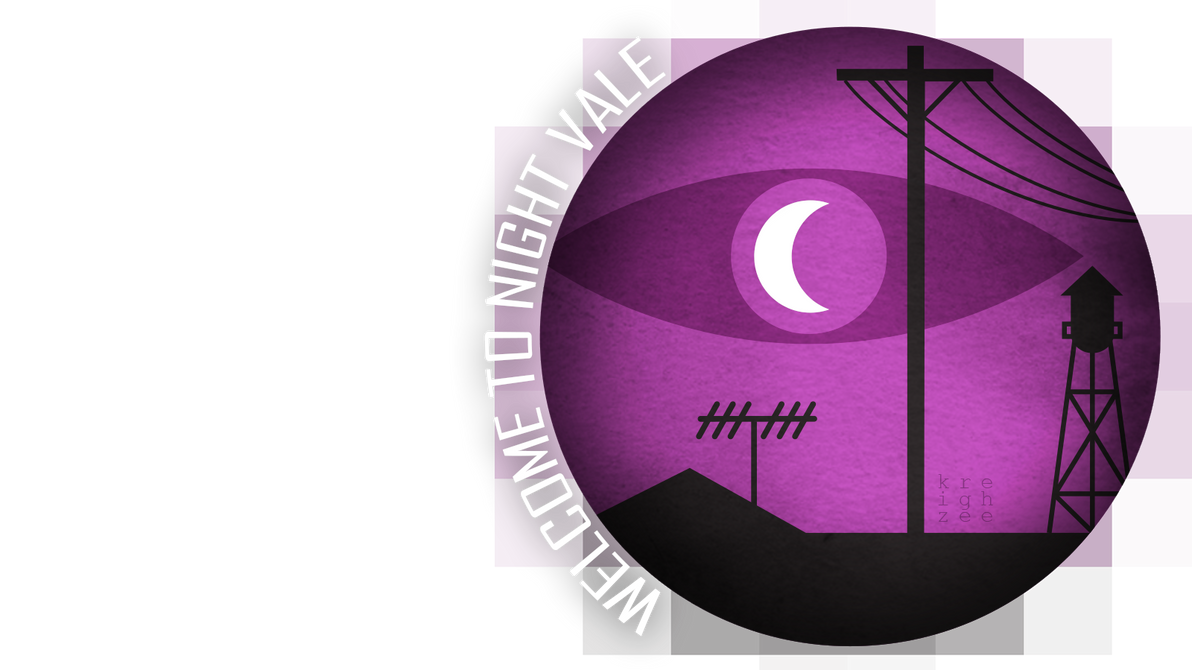 welcome to night vale logo by ivyhaze