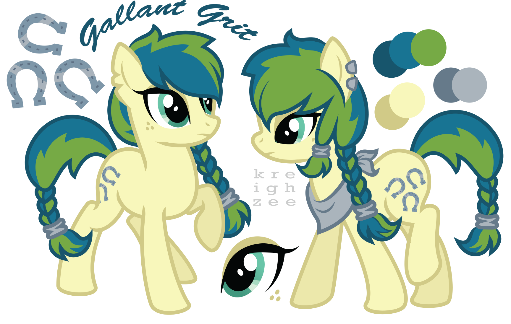 gallant grit ref sheet by ivyshire