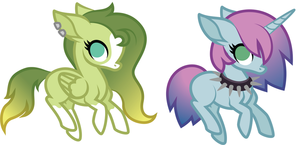 closed adopts: gradient manes by ivyshire