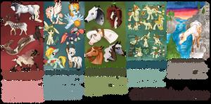Commission Sheet 2017 (OPEN!) by ivyhaze