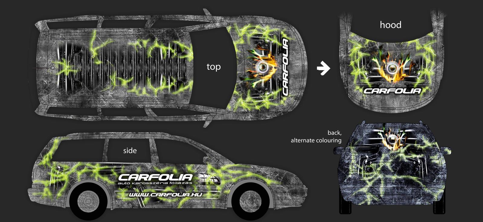 Vinyl car wrap design by hyydra on deviantart