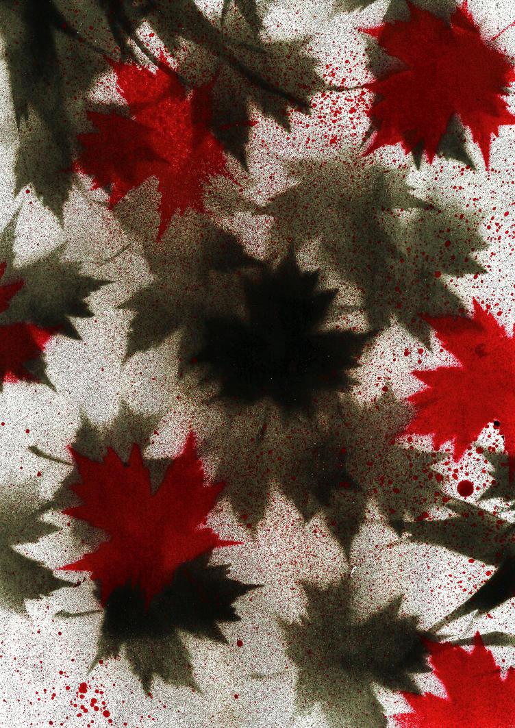 Spray leaves by EXSHINKA