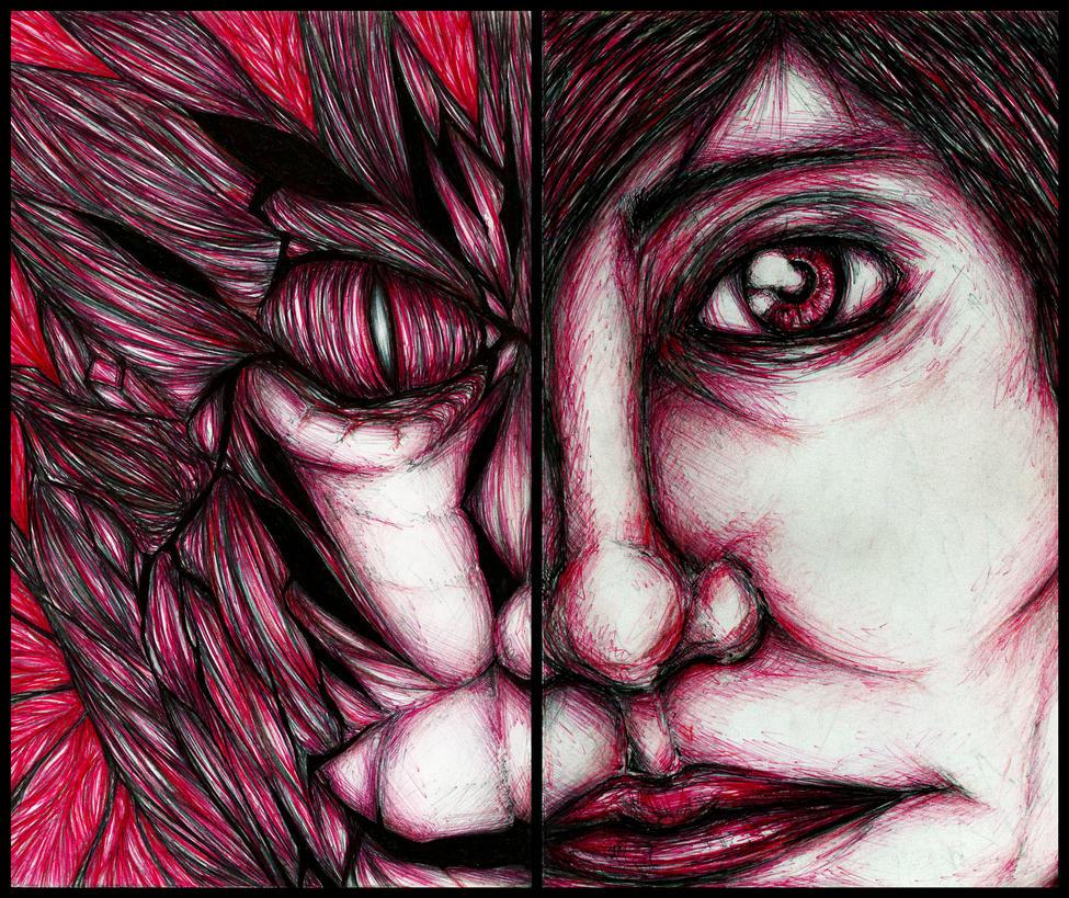 2 Face by EXSHINKA