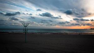 Matosinhos beach before Summer