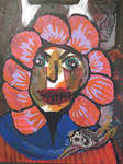 Flower Clown by IntuitiveMoth