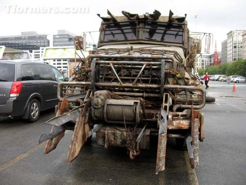 TF3: Megatron truck by Starwarsclub123