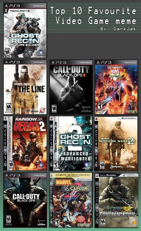 top 10 best ps3 shooter games