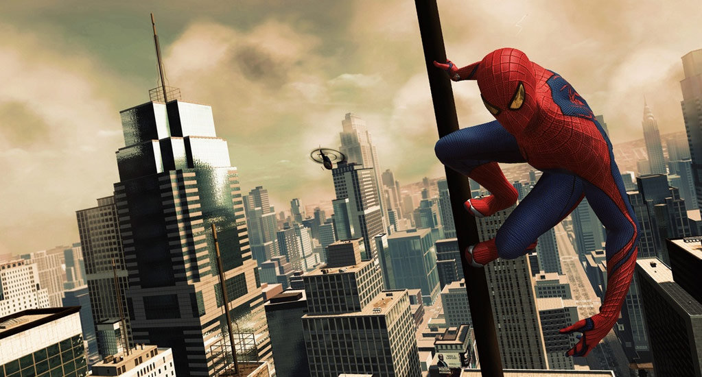 Amazing Spider Man Game City View By Starwarsclub123 On Deviantart
