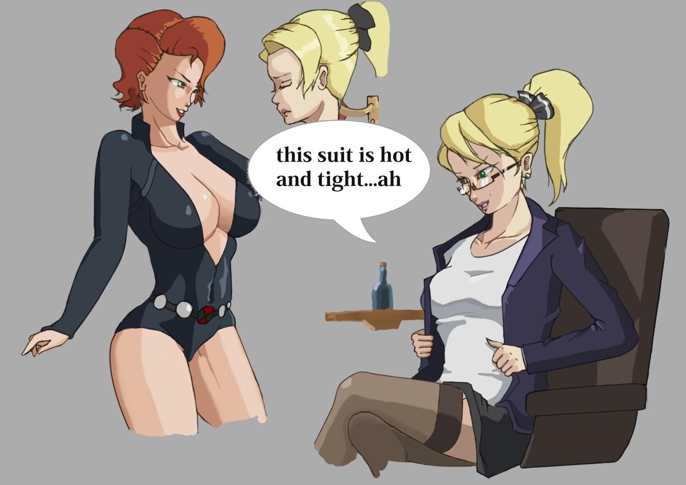 Black Widow Futa black widow ( ftf - bodysuit ) = link full below ! by